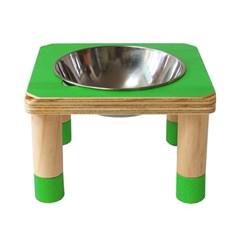 [포코]퐁퐁 원목 펫테이블 강아지식탁 고양이식탁 1구,2구,3구