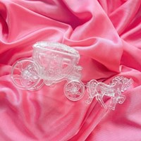 Clear Horse Wagon