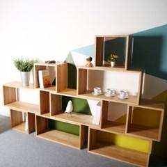 [퍼니매스] Oak Cube Box (오크 큐브 박스-스몰 w400)