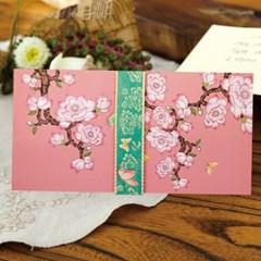 분홍꽃 피어 용돈봉투 FB107-5