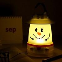 [SPICE] SNOWMAN SMILE LED LANTERN
