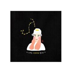 별자리 일러스트 / 팝아트커플초상화 - 캔버스 기념일 선물액자