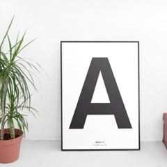 [데이앤코] alphabet poster