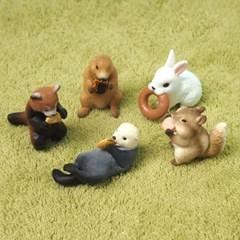먹는 것이 좋아 동물들 컬렉션 (랜덤캡슐토이)