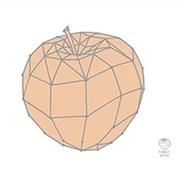 [디쿠]주방아트보드_애플플래닛(그레이/민트/핑크)_(689691)