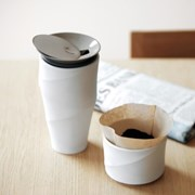 Whatcoffee ToastLiving 웨이브 커피 텀블러