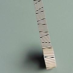 Masking Tape Multi stripe-MST-MKT185-BK