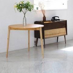 [올리빙]올리 원목 원형 입식테이블