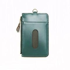 Ane ZIP CARD HOLDER_BLUE-GREEN