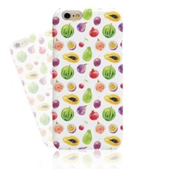 WATERCOLOR VARIETY OF FRUITS HARD CASE
