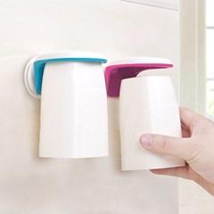 청결하고 편리한 욕실 인테리어 Reverse 심플 양치컵_(422290)