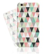 PINK POINT TRIANGLE HARD CASE