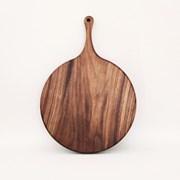circle cutting board#7 월넛