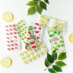 과일 FRESH 레몬 투명 젤리케이스