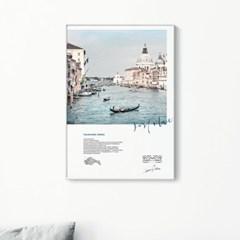 메탈 풍경 베니스 사진 인테리어 포스터 액자 Venice
