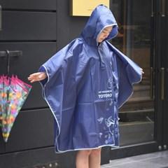 토토로 성인 비옷(판쵸)