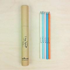 [난나무였어] 재생종이연필 (5pcs) - kraft