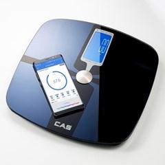 카스(CAS) 블루투스 디지털 체지방 체중계  GBF-1257B (화이트)