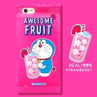 [정품]도라에몽_Yummy case_딸기에이드