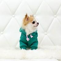 [C'mon Collection]Hoodie Emerald 커밍 후드티셔츠 민트(에메랄드)