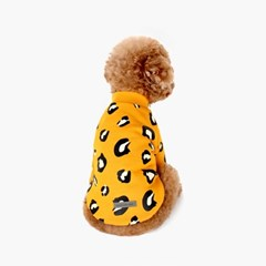 H&B Leopard Sweatshirt Yellow