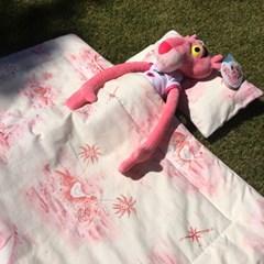 핑크 보물섬_낮잠이불