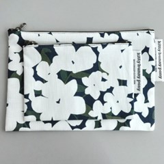 Winter Flower Pouch By Kitae Kim