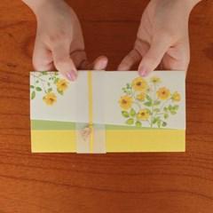 노란 들꽃의 노래 축하봉투 / 035-ME-0039