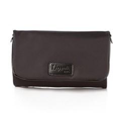 리뽀(Lipault) LADY PLUME CLUTCH BAG S BLACK (P5101022)