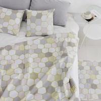 [Fabric] Netural Gold Hexagon(뉴트럴 골드 헥사곤)
