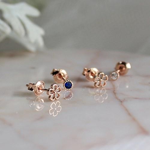 4세트 꽃 귀걸이 4set flower earring