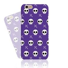 Purple BG Skull Pattern Hard Case