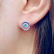 FLOS Flower Color Earrings 03
