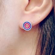 FLOS Flower Color Earrings 02