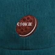 OREO CORDUROY BALL CAP CORAL GREEN