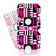 Abstract Pink Black Hard Case