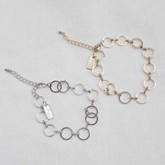 o ring bracelet (2color)