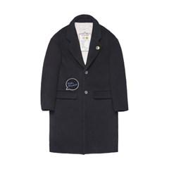 [Tea Please] Wool Single Coat(Black)_(454105)