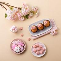 [브레드가든] 벚꽃머랭쿠키DIY세트(350~400개분량) no.S16018