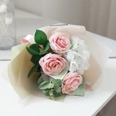 프리미엄 로즈 꽃다발 돈다발_(412536)