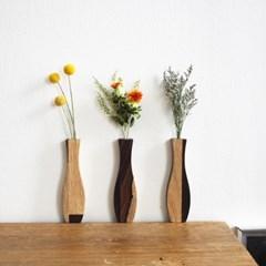 우든베이스 wooden vase