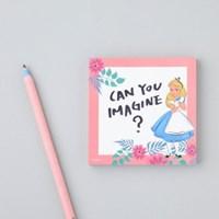 [Disney]Alice_Pink memo pad