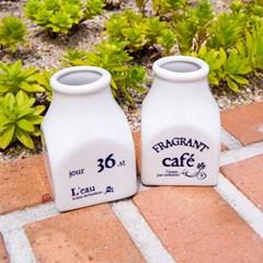 CAFE 도자기 포트 2종 세트