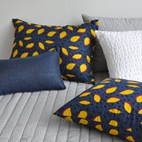summer pillow cover night mango