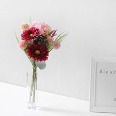 퐁퐁 해바라기 조화 꽃다발