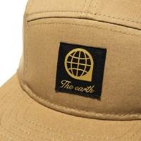 LOGO TWILL CAMP CAP - BEIGE_(877485)