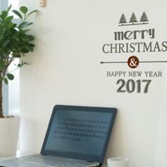 크리스마스스티커 클리프2017