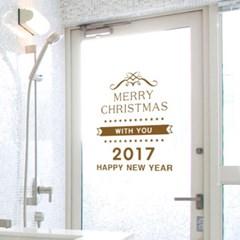 크리스마스스티커 렉스2017