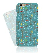 Colorful Bird on the Tree Hard Case