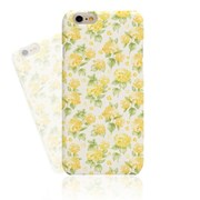 Watercolor Yellow Flower Hard Case